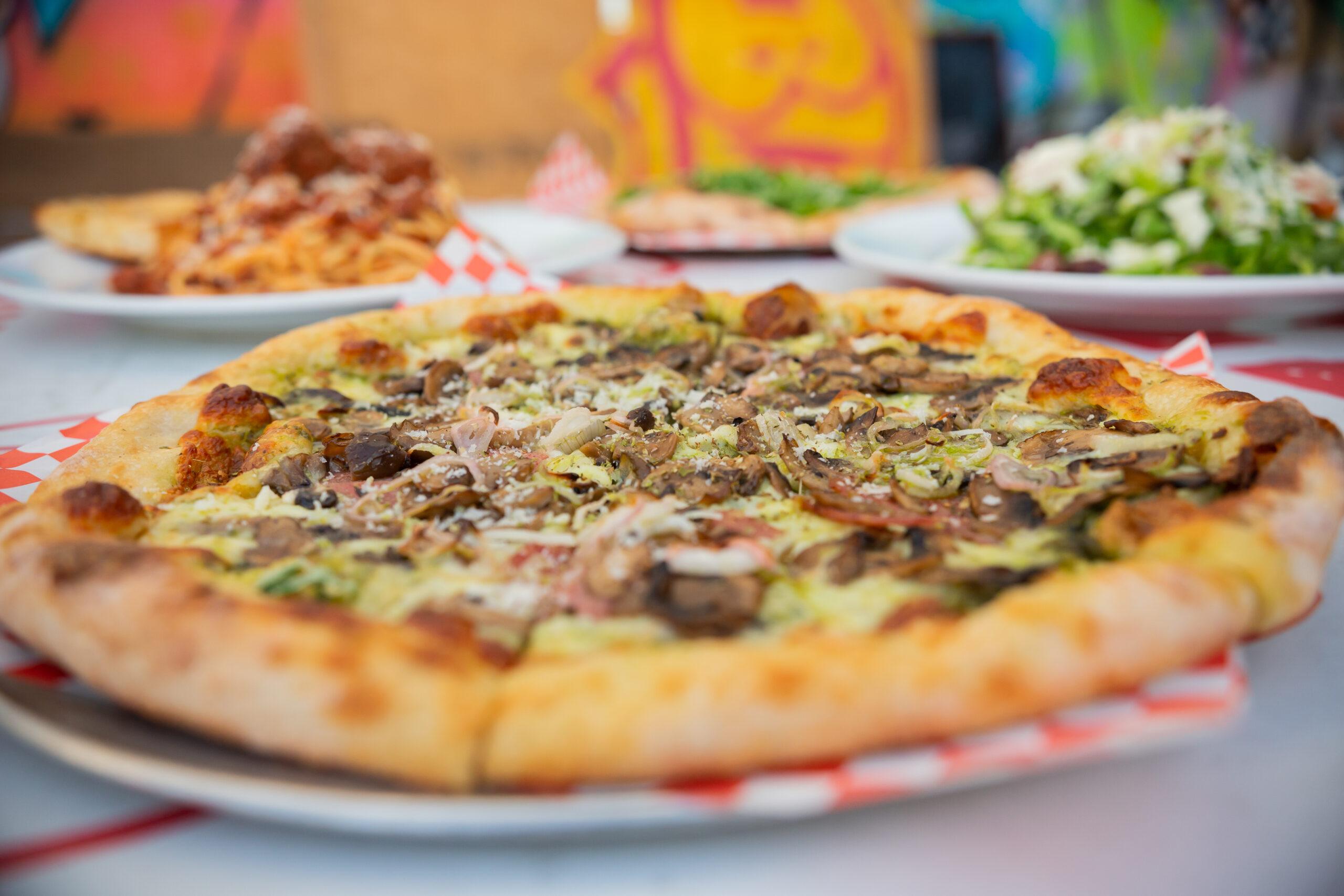 Pizza, pasta, salad & fun!